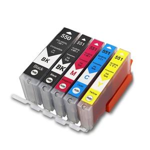 Image 2 - PGI550 CLI551 Compatible Ink Cartridges For Canon MG6350 MG7150 IP8750 Ip7250 printers PGI 550 CLI 551 PGI 550 CLI 551