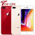 Разблокированный оригинальный Apple iPhone 8 plus 64 Гб/256 ГБ шестиядерный 3D за счет сканера отпечатков пальцев LTE Wi-Fi 12.0MP 4,7 дюймов отпечатков пальцев...