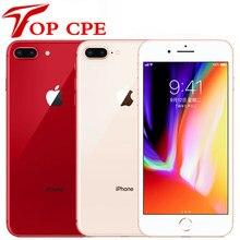 Desbloqueado original apple iphone 8 plus 64gb/256gb hexa núcleo 3d touch id lte wifi 12.0mp 4.7 polegada impressão digital usado telefone móvel