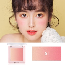 Two-color Gradient Blush Waterproof Smudge-proof Long Lasting Shiny Blusher Facial Makeup Pallete New