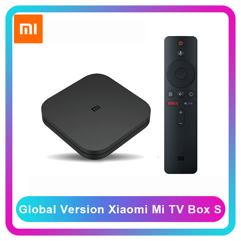 Xiaomi Media-Player Tv-Box Tv-Stick Remote Google-Assistant Global-Version Android Smart