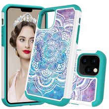 Glitter Diamond Phone Case For iPhone 2019 5.8 6.1 6.5 Cases 11 TPU Hybrid Bling Jewelled Protective Back Cover Coque