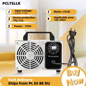 PCLTSLLK 32g 10g Generator ozonu Ozonator maszyna oczyszczacz powietrza z regulator czasowy 220V 110V sprzęt do dezynfekcji tanie i dobre opinie CN (pochodzenie) 130W 50m³ h 110V 220V 10G 32G Air Purifier 61㎡ Portable 99 10 Ozone Generator ELECTRICAL 99 00 Other