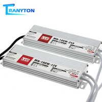 Controlador LED DC12V 24V IP67 transformadores de iluminación impermeables para luz exterior 12V fuente de alimentación 10W 20W 30W 45W 60W 100W 150W 200W