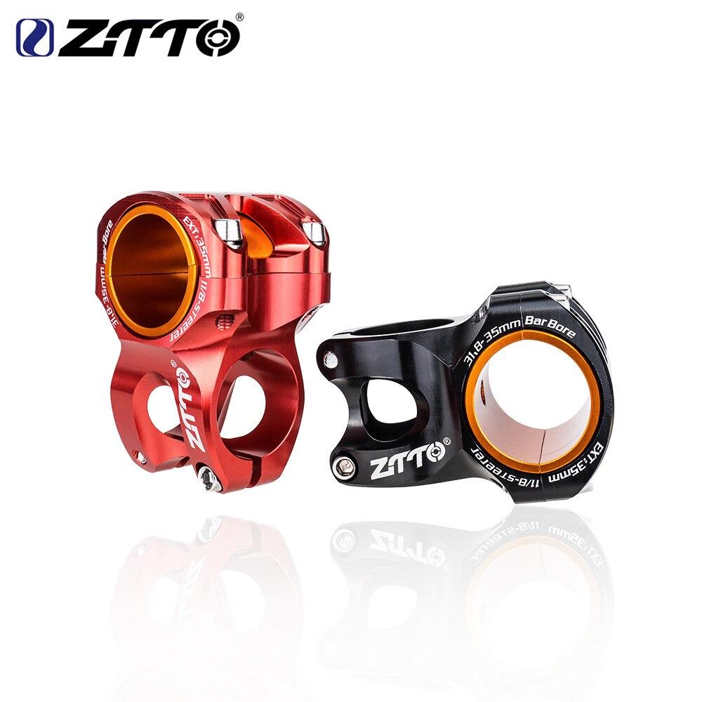 ZTTO MTB 0 градусов велосипедный стержень Высокопрочный легкий DH AM Enduro стержень 35/50 мм велосипедный стержень 28,6 стержень для руля 35 мм/31,8 мм