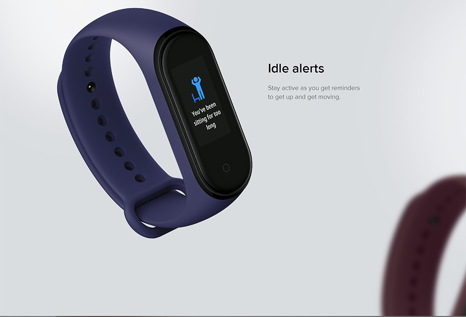 H14274c4d397345ad8b41ba8bd2b5bcfeq Xiaomi Mi Band 4 Smart Bracelet 3 Color Miband 4 Smartband AMOLED Screen Fitness Traker Bluetooth Sport Waterproof Smart Band