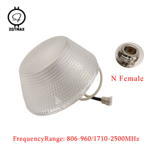 ZQTMAX omnidirectional Ceiling Antenna for GSM  WCDMA CDMA DCS PCS 2g 3g 4g Signal Booster Repeater N Female цена и фото