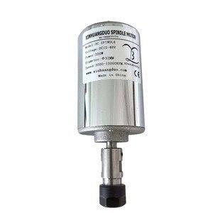 Image 2 - 200 w/300 w/400 w/500 w 스핀들 조각 기계 스핀들 모터 공기 냉각 cnc 스핀들 dc 모터 cnc 조각 기계 er11 3.175mm