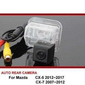 Para mazda CX-5 CX-7 cx 5 7 cx5 2012 ~ 2017 câmera de visão traseira invertendo câmera do carro back up câmera hd ccd visão noturna veículo cam