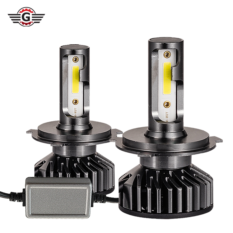 2PCS F2 Canbus <font><b>Led</b></font> Headlight H1 H3 H4 H7 H8 H11 Hb3 9005 Hb4 9006 <font><b>9012</b></font> 9004 9007 H27 880 H13 <font><b>LED</b></font> Bulb For Use In Cars 12000LM image