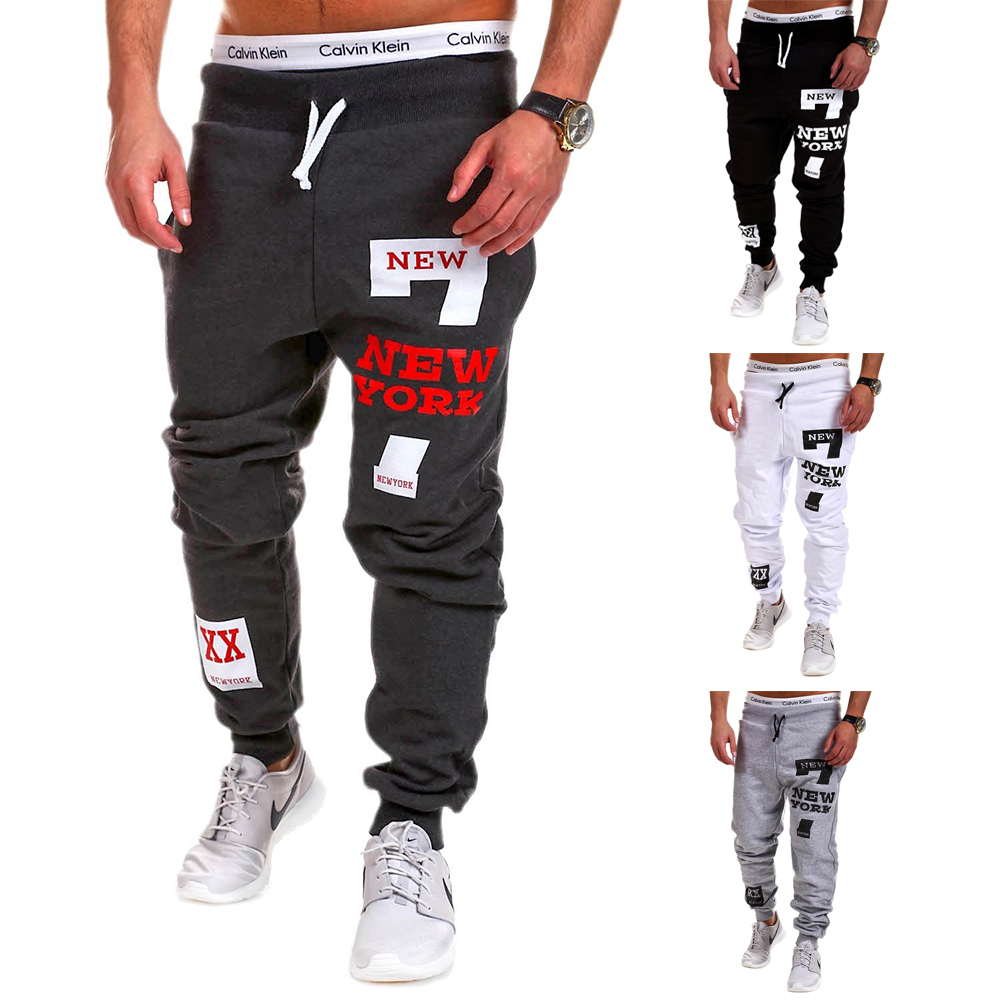 SWAGWHAT Mens Joggers Casual Pants Fitness Men Sportswear Tracksuit Bottoms Sweatpants Trousers Black Gyms Jogger Track Pants