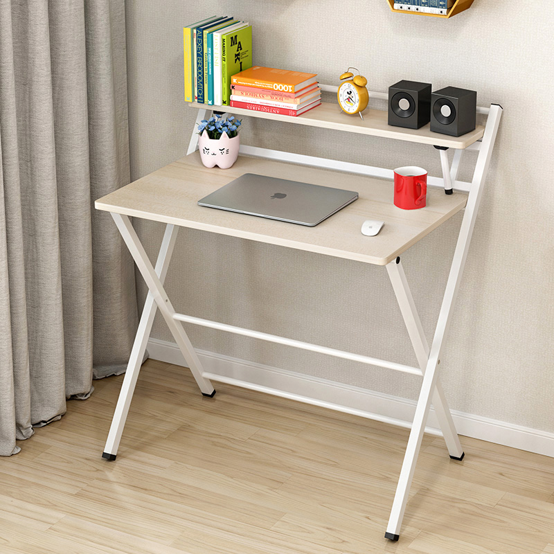 Simple Modern Folding Desk Home Junior High School Pupils Single Laptop Computer Desk Kids Desk