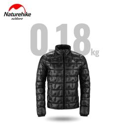 2020 Naturehike 180g Thermal Down Winter Jacket Men and Women 1000 Fluffiness Outdoor Ultralight Down Jacket Windbreak Covercoat