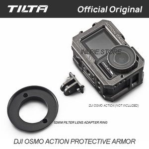 Image 4 - Tilta Cage TA T06 for Osmo ACTION Camera Cage Protect case for DJI OSMO ACTION Accessories TILTAING
