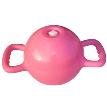 Trening Fitness dla kobiet trening jogi zapobiegająca uszkodzeniom w wyniku nacisku podwójny uchwyt hantle wtrysk wody przenośny czajnik masaż dzwonkowy PVC tanie i dobre opinie TONQUU WOMEN Spray-farby Other Kompleksowe fitness ćwiczenia