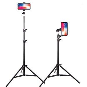Image 5 - Aluminiowy statyw z Bluetooth dla iphone Gopro Xiaomi Huawei telefon komórkowy fotografia na żywo Selfie statyw do kamery Tiktok Vlog