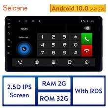 Seicane Android 10.0 2DIN 2 GB RAM 32 GB ROM IPS ekran araba kafa ünitesi radyo sesli GPS multimedya oynatıcı 2015 TOYOTA Sienna