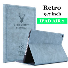 Case For iPad Air 2 Air 1 Case 2018 9.7 inch Generation Funda magnetica Flip Stand case for Ipad 5th 6th Generation Cover(China)