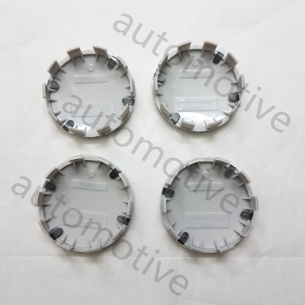 New 4pcs 68mm Wheel Center Hub Caps Cover Badge Emblem For BMW 3 5 6 7 X Z Series <font><b>36136783536</b></font> image