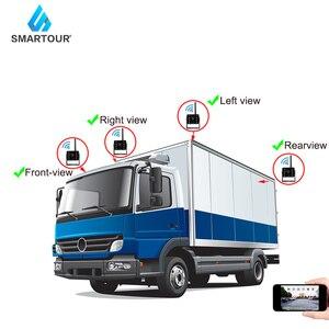 Беспроводная Wi-Fi камера заднего вида для грузовиков, автобусов, прицепов, грузовиков, кемперов, Противоударная водонепроницаемая автомобил...