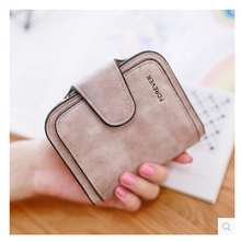 Womens Wallet Buckle Small and Slim Coin Pocket Ms. Card Holder Luxury Brand Fashion Mini  Hand Bag