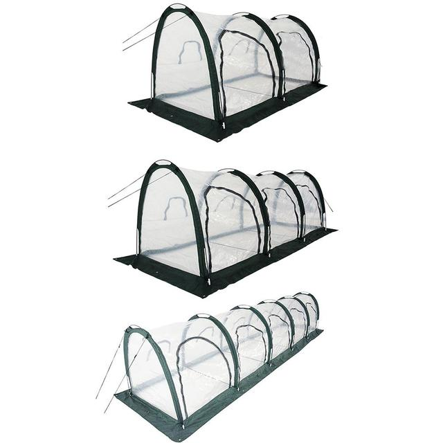 Mini Greenhouse Pop Up Grow House Indoor And Outdoor Backyard Protector Portable Gardening Plant Shelter 1