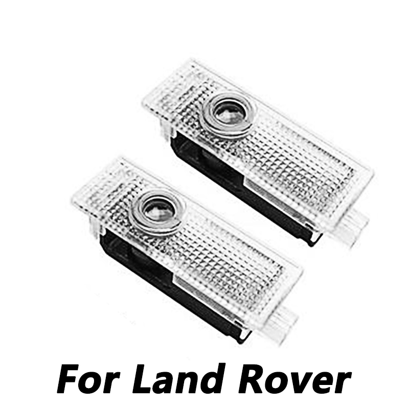 2Pcs Led Car Logo Door Laser Projector Ghost Shadow Welcome Light For Land Rover Range Rover Discovery 3 4 Freelander 2 Evoque