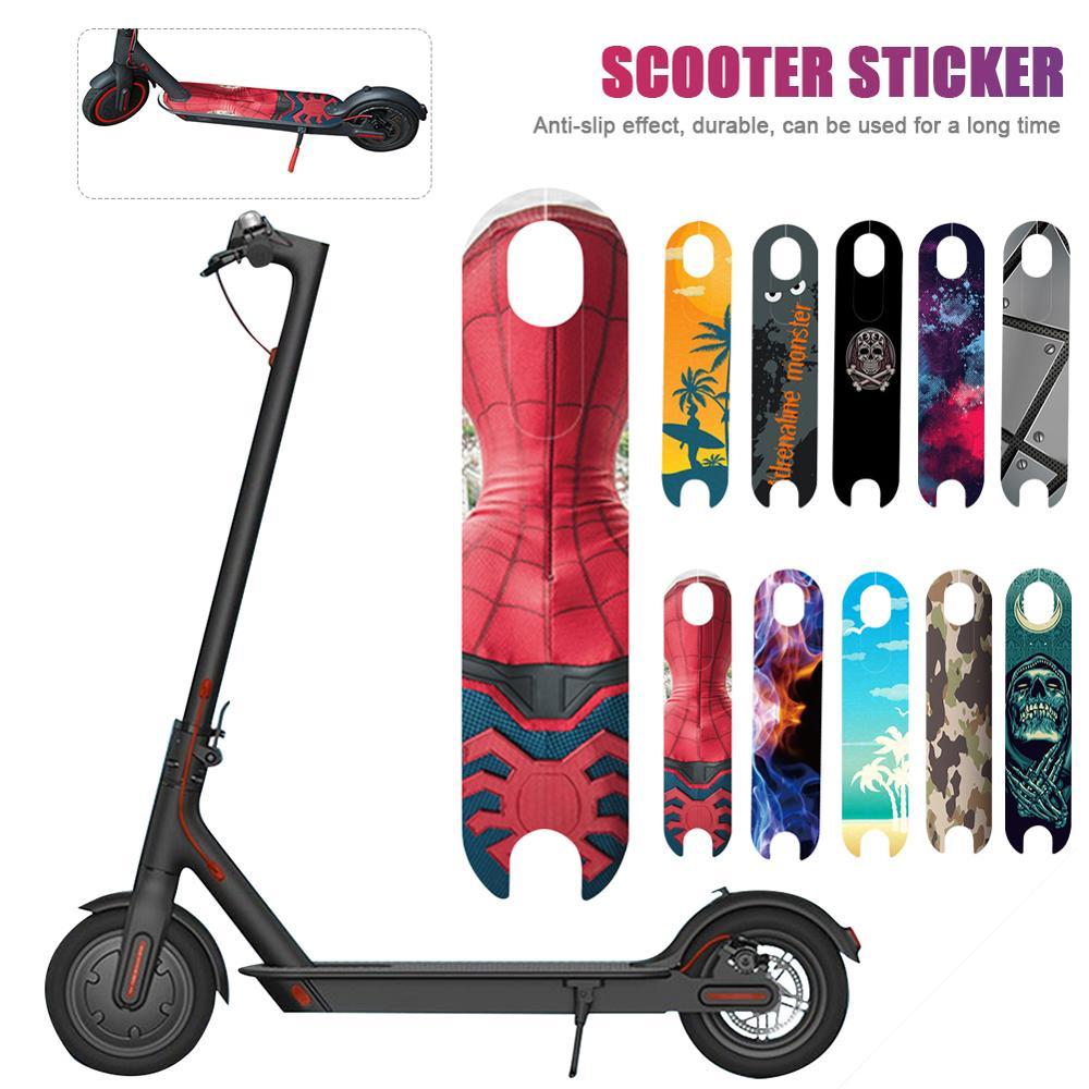 Scooter Pedal Footboard Tape Sandpaper For XIAOMI Mijia M365 Electric Skateboard Anti-slip Sticker Protective Skate Stickers DIY