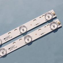 """10 ピース/ロット新 32 """"ユニバーサルライトバー 10 ランプ 3 の長さ 57 センチメートルledアセンブリインストールバックライトバーアルミ基板"""
