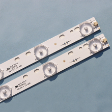 """10 개/몫 새로운 32 """"유니버설 라이트 바 10 램프 3V 길이 57CM LED 어셈블리 설치 백라이트 바 알루미늄 기판"""