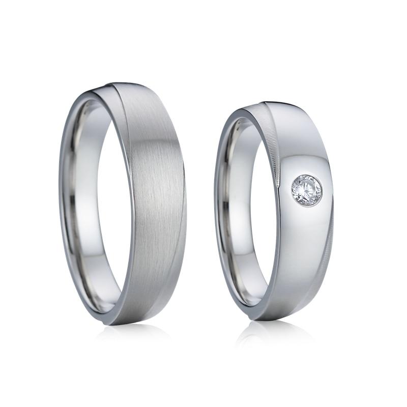 Forever Love Alliance 10 лет Свадебные кольца на годовщину ювелирные изделия пара кольцо для мужчин и женщин