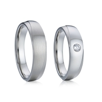 Forever Love Alliances 10 year wedding anniversary rings jewellery couple ring for men and women