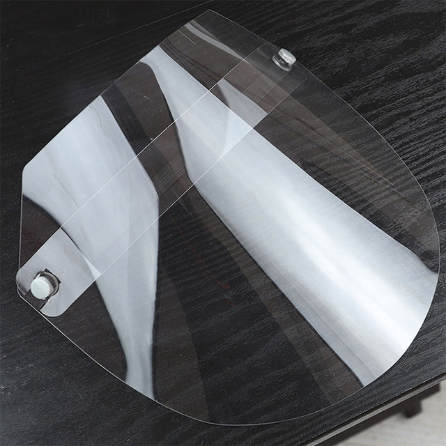 Brand New 1 PC Anti-virus Saliva Transparent Mask Protective Face Shield PVC Protection 3
