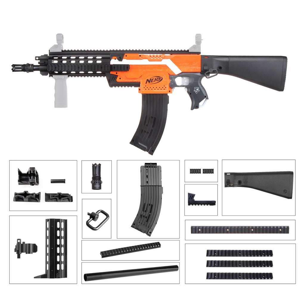 Worker STF-W005-02 G56 C Style Mod Kits Set For Nerf N-Strike Elite Stryfe Blaster Exquisite Workmanship Environmental