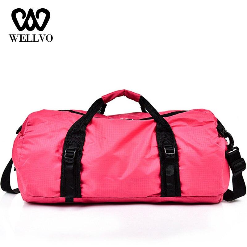 Waterproof Travel Bag Women Multifunction Traveling Duffle Bag For Men Collapsible Bag Large Capacity Luggage Folding Bags XA85W
