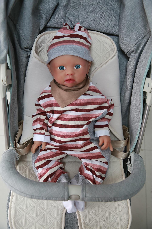 IVITA WG1519 48cm 3700g Realistic Silicone Reborn Dolls Newborn Baby Infant Toddler Lifelike Skin Soft High Quality Toy