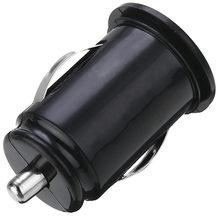 1 ud. Cargador Mini USB negro/blanco de 12V para coche camión Dual 2 puertos adaptador para i-phone 7 Plus 6 5S 4s para s-amsung Galaxy S8 S7