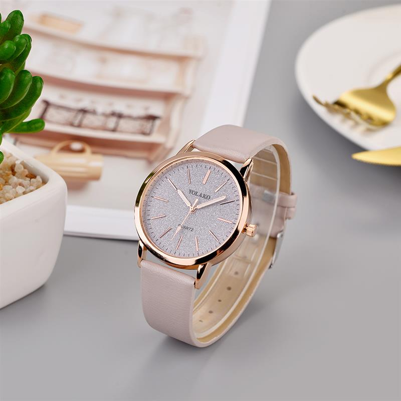 2020 Luxury Brand Leather Quartz Women'S Watch Ladies Fashion Watch Women Wristwatches Clock Relogio Feminino Reloj Mujer