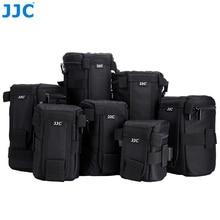 JJC wodoodporna torba na obiektyw aparatu Deluxe dla Canon Sony Nikon JBL Xtreme poliester miękki futerał SLR DSLR Box fotografia pas