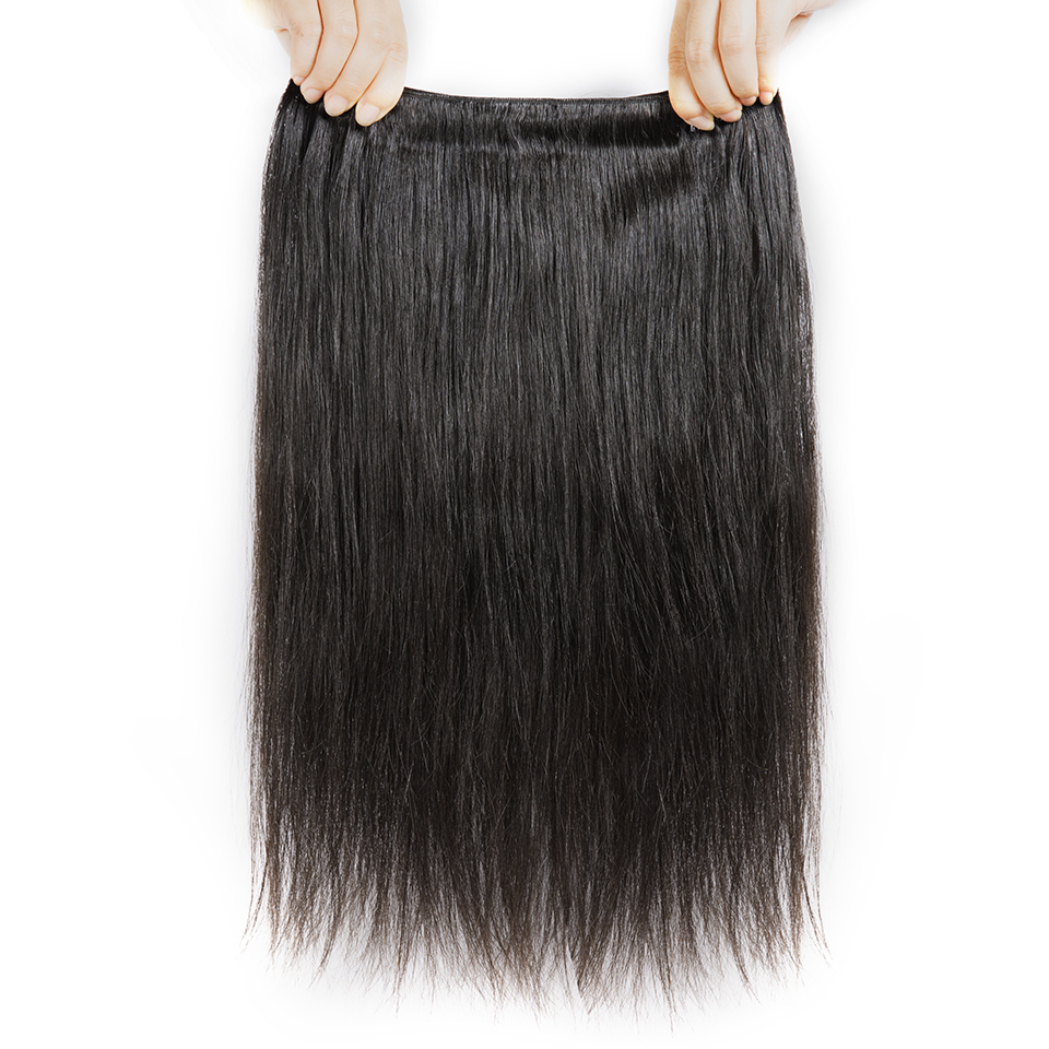 H142b2b2aad504adcaaa92cc96f67c317G Cexxy Straight Bundles With Closure Brazilian Hair Weave Bundles With Closure Human Hair Extension Long Hair 8-34 36 38 40Inch