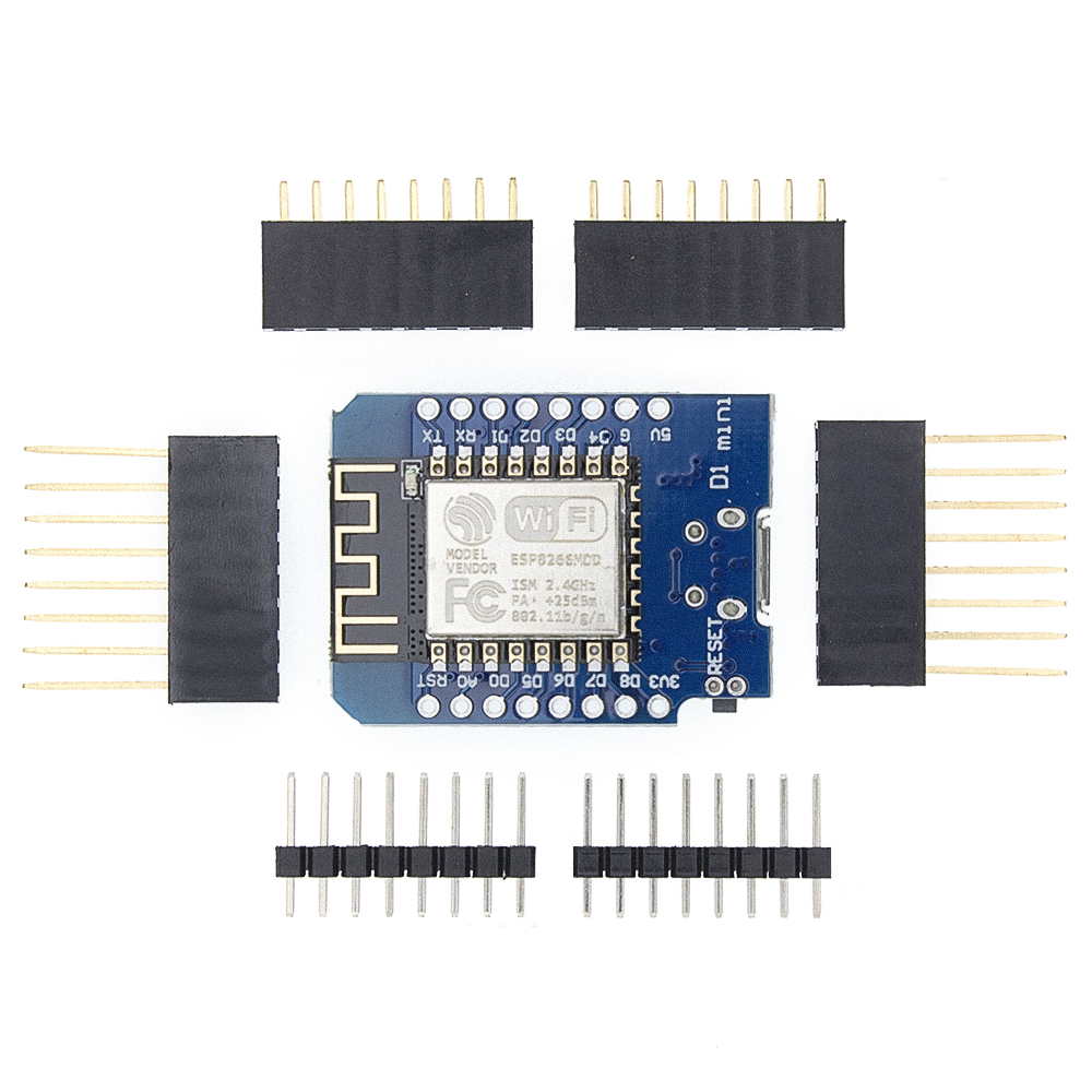 100pcs D1 Mini  Mini NodeMcu 4M Bytes Lua WIFI Internet Of Things Development Board Based ESP8266