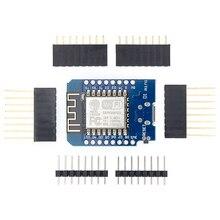 100pcs D1 mini  Mini NodeMcu 4M bytes Lua WIFI Internet of Things development board based ESP8266