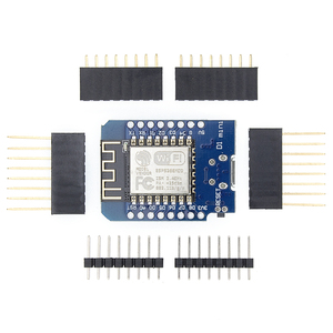 Image 1 - 100pcs D1 mini  Mini NodeMcu 4M bytes Lua WIFI Internet of Things development board based ESP8266