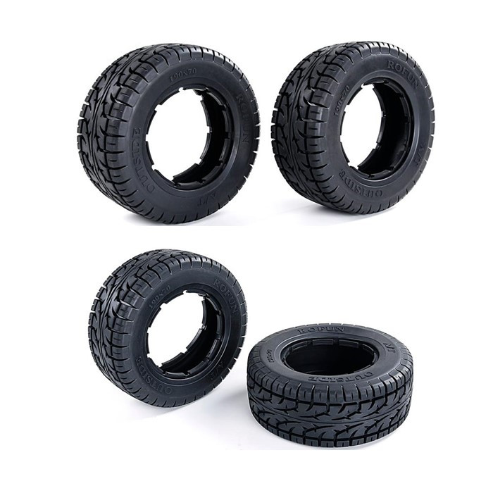 Super Rubber Tire All Terrain Tyre for 1/5 Scale LOSI 5IVE-T 5T Rovan LT SLT V5 5S image