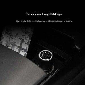 Image 2 - Ładowarka samochodowa Xiaomi QC 3.0 Dual USB szybkie ładowanie 5V/3A 9V/2A Mi ładowarka samochodowa dla androida iOS dla iPhone telefon komórkowy