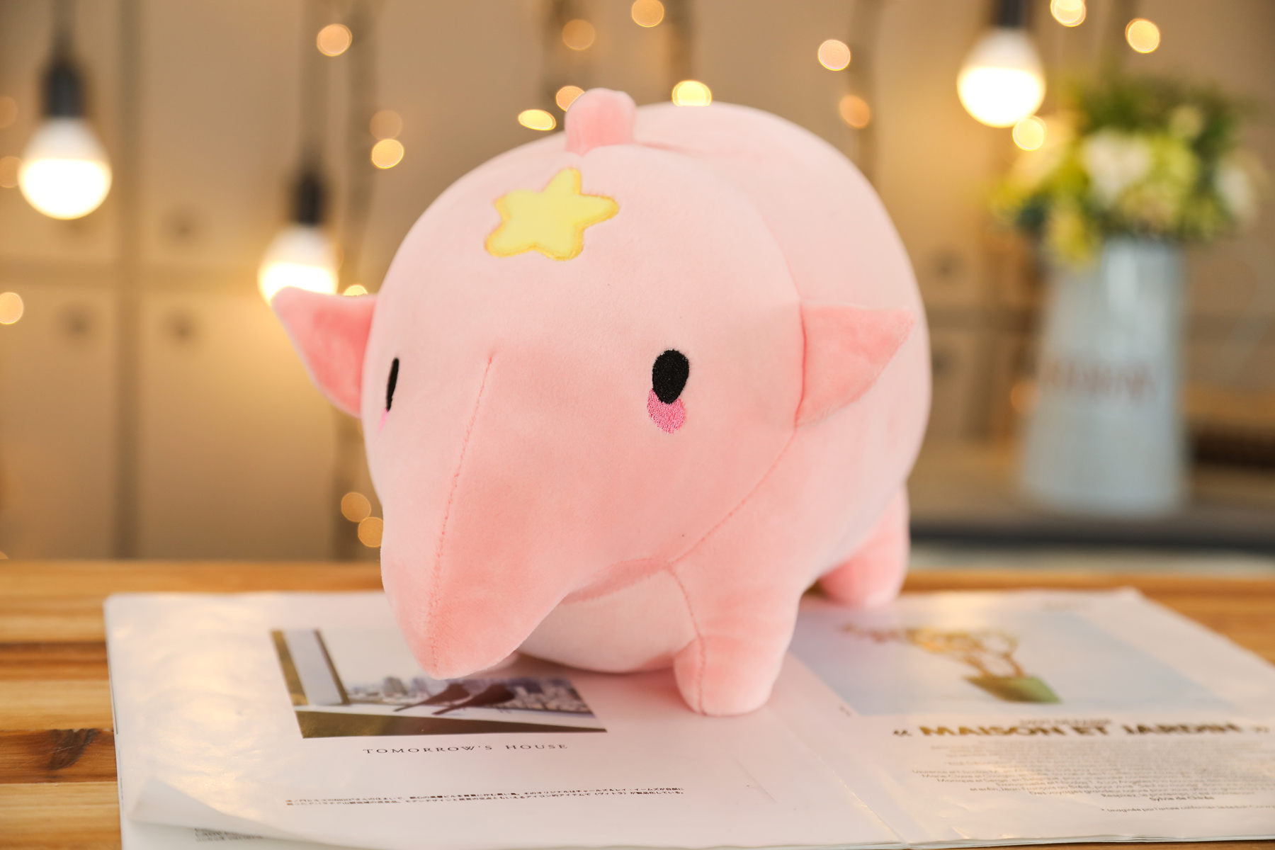 1pc 40-80cm Soft Lovely Rhinoceros Plush Pillow Kawaii Stuffed Animal Plush Toys for Children Baby Appease Doll Kids Girls Gift  - buy with discount