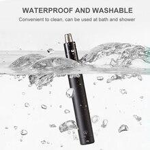 شاومي صغيرة الكهربائية الأنف الشعر المتقلب مقاوم للماء آمنة الأنف الشعر آلة الحلاقة ماكينة حلاقة أدوات تنظيف الوجه
