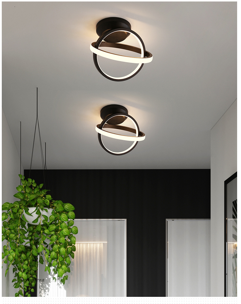 H142c4ea34f0340f1a09d3240dd6fea0dy Verllas Rotatable Modern LED Ceiling Lights for Corridor aisle minimalist porch entrance hall balcony led Home ceiling lamp