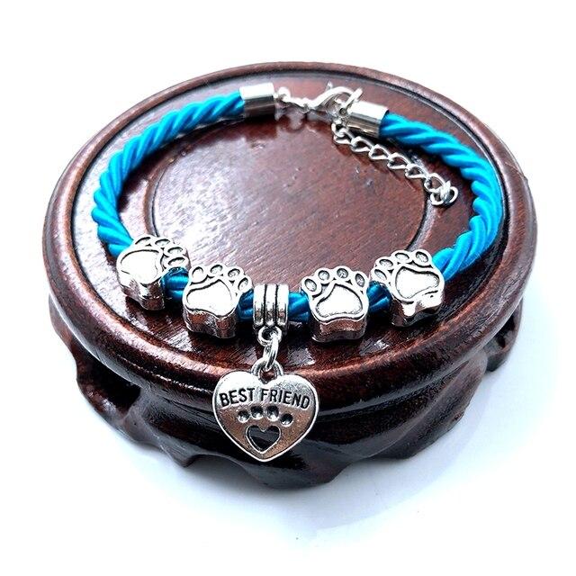 Dog Paw Charm Bracelet  6