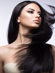 EVAGLOSS Russian Human-Hair-Extensions Micro-Link Nano-Beads/rings Keratin Remy Straight